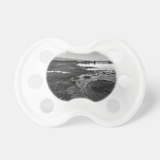 Mono Lake Reverie (Black & White) Pacifier