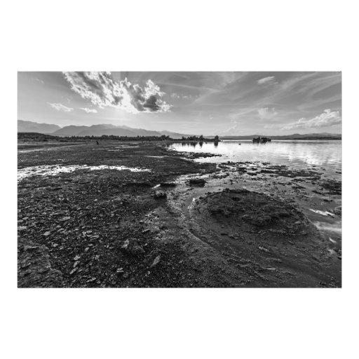 Mono Lake Reverie (Black & White) Photo