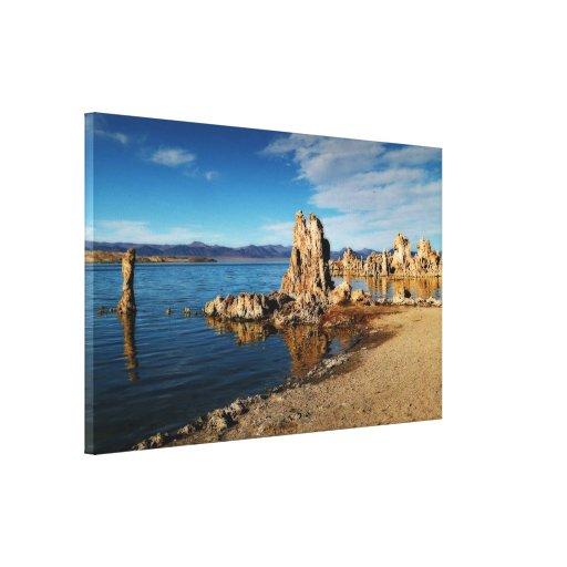 Mono Lake Scene Gallery Wrap Canvas