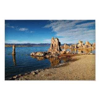 Mono Lake Scene Photograph