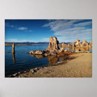 Mono Lake Scene Poster