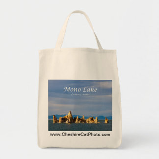 Mono Lake Sunset California Products Tote Bags