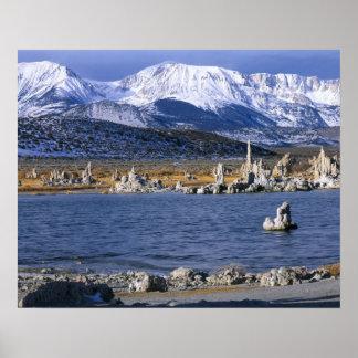 MONO LAKE TUFA STATE NATURAL RESERVE, POSTER