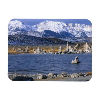 MONO LAKE TUFA STATE NATURAL RESERVE, RECTANGULAR PHOTO MAGNET