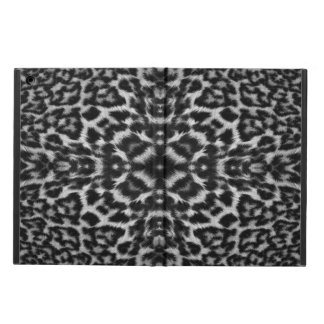 Mono leopard skin fur pattern ipad case
