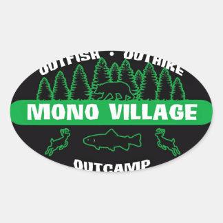 Mono Village Survivor Sticker Green
