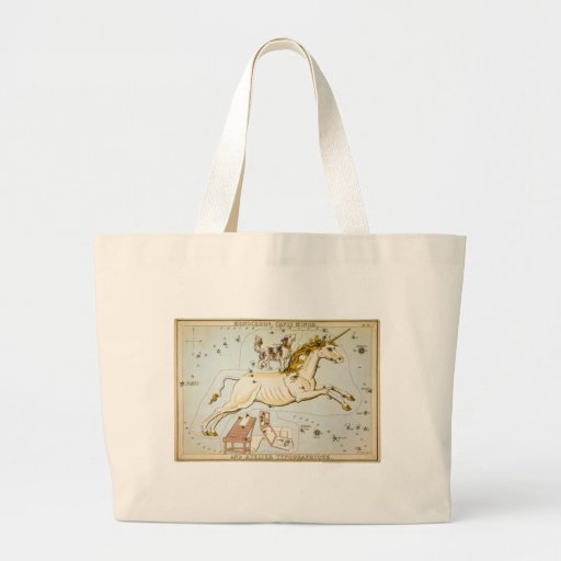 Monoceros, Canis Minor, and Atelier Typographique Tote Bag