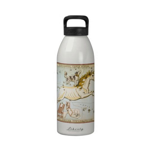 Monoceros, Canis Minor, and Atelier Typographique Reusable Water Bottle
