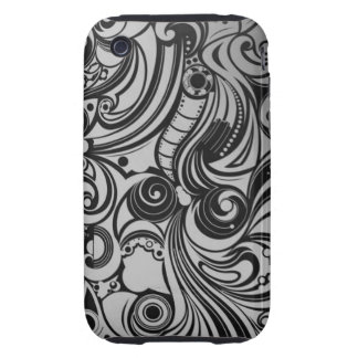 Monochrom fashionable iPhone 3/3GS Case iPhone 3 Tough Cases