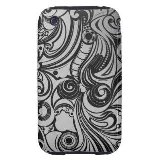 Monochrom fashionable iPhone 3/3GS Case Tough iPhone 3 Case