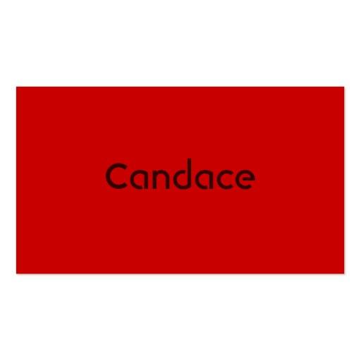 Monochromatic in Cinnamon Business Card Template