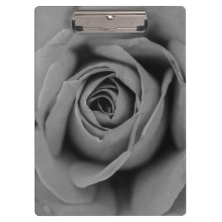 Monochromatic Rose Clipboard