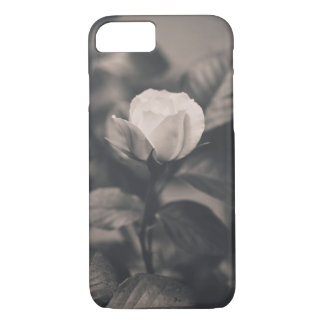 Monochromatic rose image iPhone 8/7 case