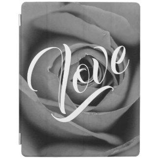 Monochromatic Rose Love iPad Smart Cover