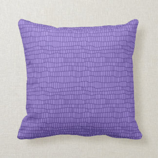 Monochromatic  violet   accent  pillow