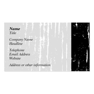 Monochrome Abstract Business Cards