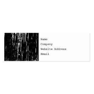 Monochrome Abstract. Pack Of Skinny Business Cards