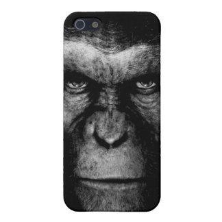 Monochrome  Ape Face iPhone 5/5S Covers