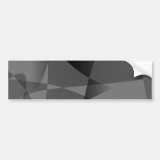 Monochrome Art Bumper Stickers