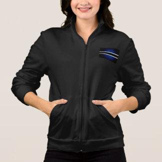 Monochrome Botswana Flag Jacket