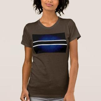Monochrome Botswana Flag T-shirts