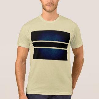 Monochrome Botswana Flag Tshirts