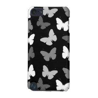 Monochrome Butterflies Pattern iPod Touch 5G Case