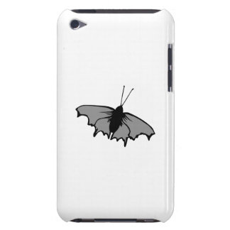Monochrome Butterfly Barely There iPod Cover