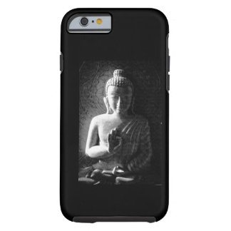Monochrome Carved Buddha Tough iPhone 6 Case