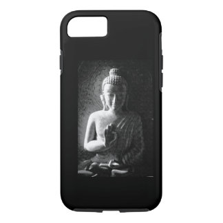 Monochrome Carved Buddha iPhone 7 Case