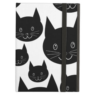 Monochrome Cat Design. Case For iPad Air