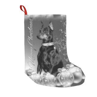Monochrome Christmas Theme Stocking