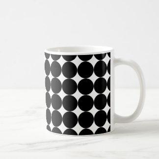 Monochrome Circle Mug