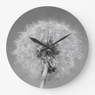 Monochrome Dandelion Clock