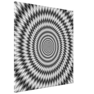 Monochrome Engineering Canvas Print