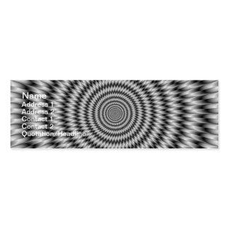 Monochrome Engineering Pack Of Skinny Business Cards