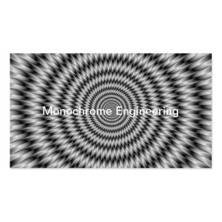 Monochrome Engineering Pack Of Standard Business Cards