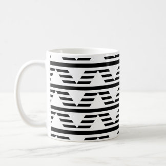 Monochrome Geometric Design. Pattern. Coffee Mug