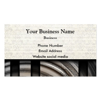Monochrome gray abstract pattern business card templates