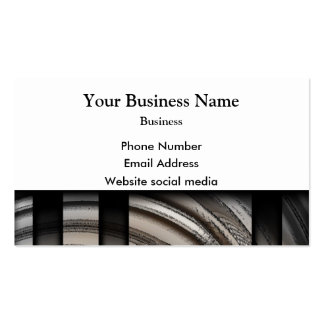 Monochrome gray abstract pattern Double-Sided standard business cards (Pack of 100)