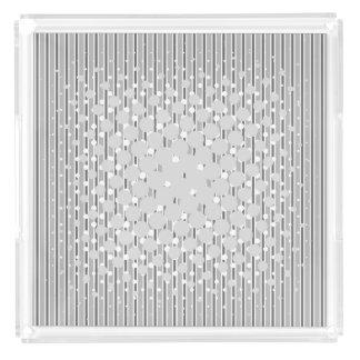 Monochrome Grey Density Design - Tray