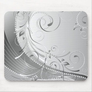 monochrome mouse pad