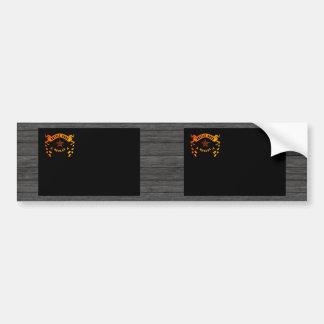 Monochrome Nevada Flag Bumper Sticker