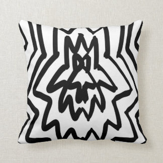 Monochrome Pattern Cushion
