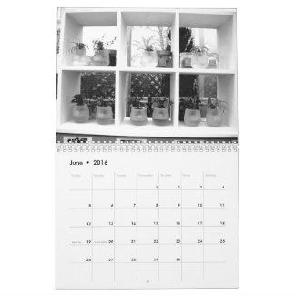 Monochrome photograph calendar 2016vol1