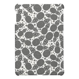 Monochrome Pineapples iPad Mini Case