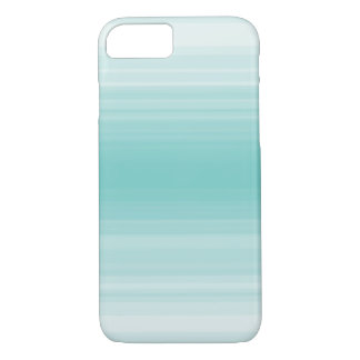 Monochrome simple blue stripe iPhone 7 case