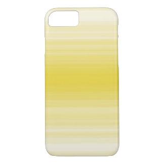 Monochrome simple yellow stripe iPhone 7 case