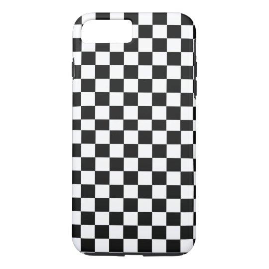 Monochrome Squares abstract repeatable geometric p iPhone 8