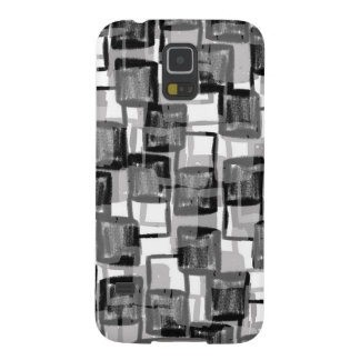 Monochrome Squares Galaxy S5 Covers